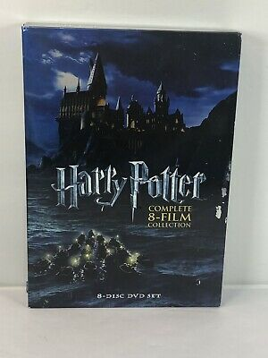 $ CDN31.70 • Buy Harry Potter: Complete 8-Film Collection (DVD, 2011, 8-Disc Set)