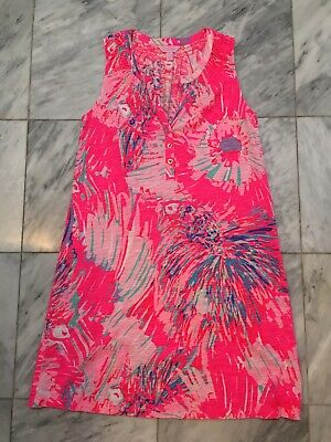 $10.50 • Buy Lilly Pulitzer Essie Dress Small 60% Cotton 40% Modal Style 20918