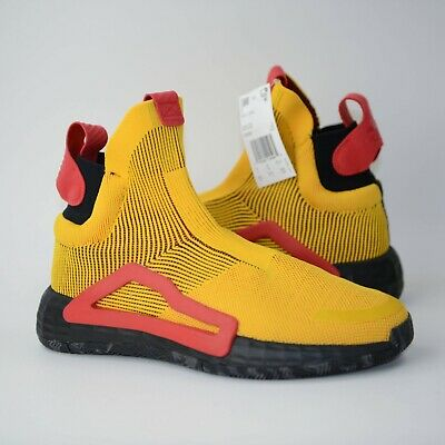 AU123.83 • Buy Adidas N3xt L3V3l Basketball Shoes Bold Gold/Core Black/Scarlet F36292  Sz 9.5