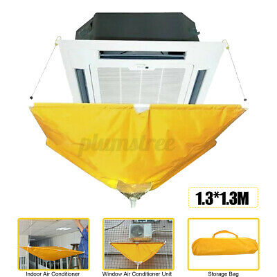 AU51.74 • Buy Air Conditioner Cover Cleaning Washing Clean Bag Waterproof Protector Household