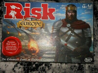 $34 • Buy Risk Europe Medieval Conquest Board Game 100% Complete