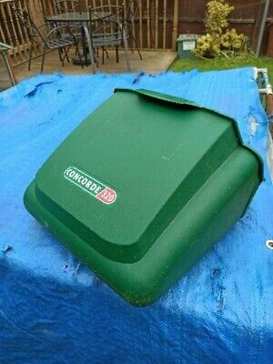 Qualcast Concorde 320 Electric Cylinder Lawnmower Front Grass Box • 18£
