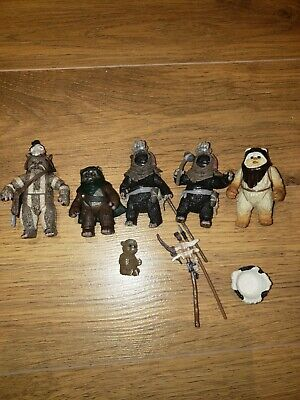 $ CDN23.50 • Buy Lot Of 4 Vintage Star Wars Figures Ewoks Wicket All COMPLETE And GREAT CONDITION