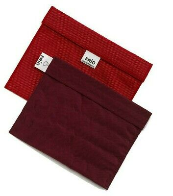 Frio Insulin Extra Large Cooling Travel Wallet Red • 21£