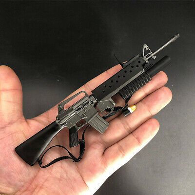 $20.99 • Buy 1/6 Scale M16A1 & M203 Grenade Launcher Model Plastic For 12  Figure