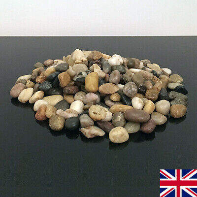 500g Decorative Natural BROWN PEBBLES Stones Chippings Gravel HOME GARDEN Rocks • 2.49£