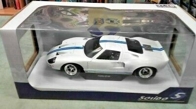 Solido 1/18 Ford GT40 MK1 Widebody 1968 In White - S1803002 Boxed & New • 44.99£