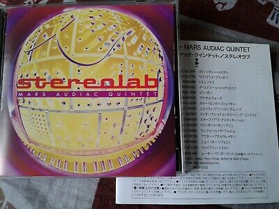 Stereolab  Mars Audiac Quintet (1994) Cd Japanese Import. • 9.99£