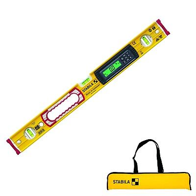 Stabila 81cm Electronic Water Level Type 196-2 Electronic IP 65 IN Bag • 185.37£