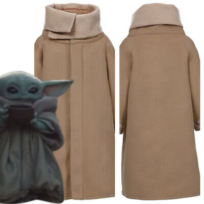 Star Wars Baby Yoda The Mandalorian Kid's & Adult Outfit Cosplay Costume Jacket • 27.59£