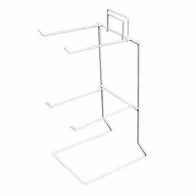 Counter Hook Stand Displays Table Top For Shops, Craft Fairs, Market Stall White • 9.99£