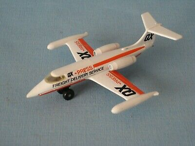 Matchbox Skybuster Lear Jet QX Courier Toy Model Plane 100mm Long Toy Model • 17.99£