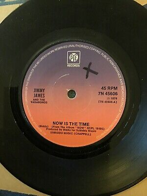 £10 • Buy Jimmy James And The Vagabonds=now Is The Time  Ex