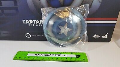$ CDN157.06 • Buy Hot Toys MMS243 Captain America Action Figure's 1/6 Clean Version Metal Shield