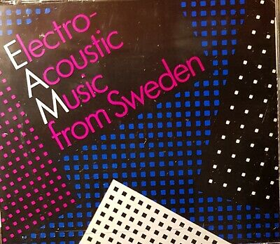Electro-Acoustic Music From Sweden.2 CD Set • 24.99£