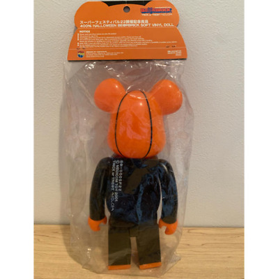 $128.99 • Buy BE@RBRICK 400% Halloween Super Festival 22 Commemorative Figure DHL Shipping