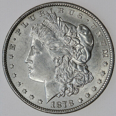 $81 • Buy 1878-p 8tf $1 Morgan Silver Dollar Eight Tail Feathers