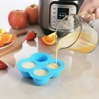 $14.51 • Buy Silicone Egg Bites Molds For Instant Pot Accessories 3 Qt - Fits Instant 3/5/6/8