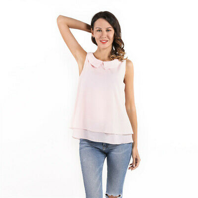 AU12.09 • Buy Summer Chiffon Women Gifts For Her Spring Women S Clothing Topsamptee Blouses LS