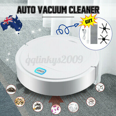AU38.72 • Buy Rechargeable Automatic Smart Robot Vacuum Cleaner Dry Wet Floor Mop Sweeping AUS