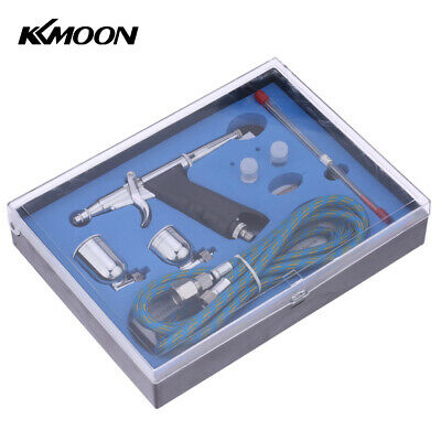 £18.80 • Buy KKmoon Professional Double Action Pistol Trigger Airbrush Set W/Hose 2 Cups K4G5