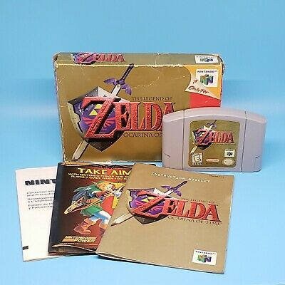 $72.99 • Buy The Legend Of Zelda: Ocarina Of Time With Box And Manuals (Nintendo 64 N64)