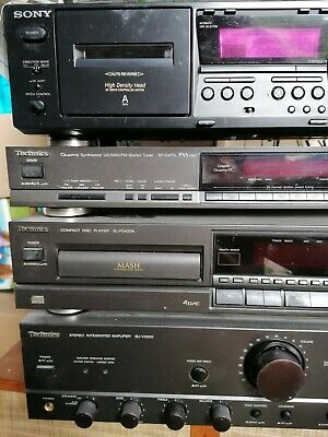 £250 • Buy Technics And Sony Stereo System