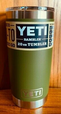 $30.99 • Buy Brand New AUTHENTIC YETI Rambler 20 Oz Tumbler With MagSlider Lid ~ Choose Color