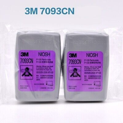 $ CDN26 • Buy 3M 7093CN 2PCS (1 Pairs) 7093 Filter For 3M 6200/6800/7502 Made In Canadian