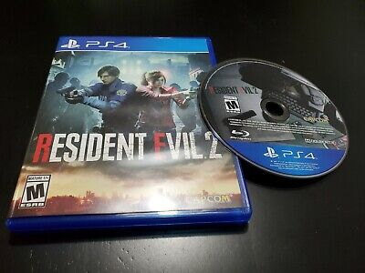 $24.99 • Buy Resident Evil 2 (Sony PlayStation 4, 2019) COMPLETE! TESTED! FREE SHIPPING!