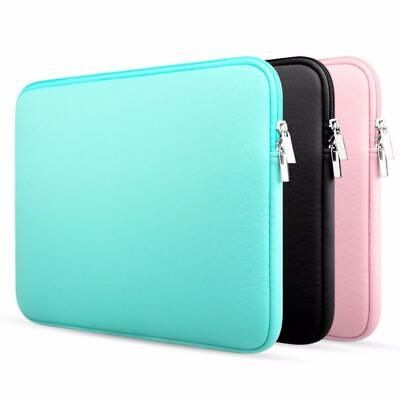 AU9.73 • Buy Zipper Laptop Sleeve Soft Bag Case For Macbook Laptop AIR PRO Retina Cover Bag