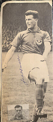 Signed Jack Henderson Portsmouth FC 1950s Football Autograph • 12.99£