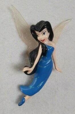 Disney Fairies Silvermist Fairy 4  Mini Figure Toy - Cake Topper Decoration • 1.59£