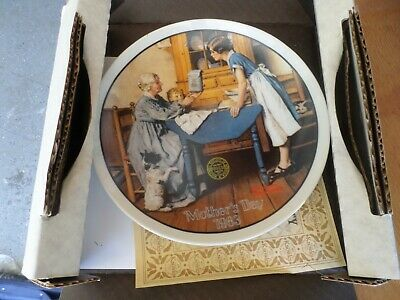 $ CDN3.75 • Buy Collector Plates  PICK ANY Or All  $2.99 Each  Norman Rockwell W/org Box