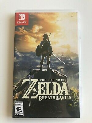 $40 • Buy The Legend Of Zelda: Breath Of The Wild (Nintendo Switch)