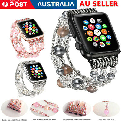 AU11.99 • Buy For Apple Watch Series 5 4 3 2 1 Stainless Steel Bracelet IWatch Band Strap
