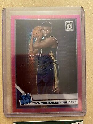 $149.99 • Buy 2019-20 Panini Donruss Optic #158 Zion Williamson Rated Rookie Hyper Pink Prizm