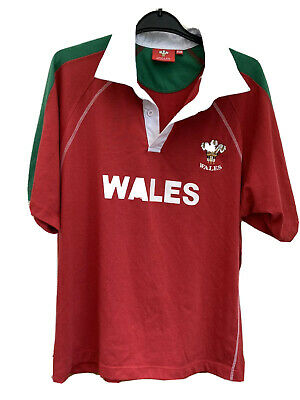 Wales Rugby Polo Shirt • 4£