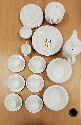 Wedgewood Westbury Fine Bone China Complete Dinner Service And Tea Set  • 100£