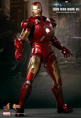 $ CDN516.92 • Buy Hot Toys 1/6 Marvel Avengers Mms185 Iron Man Mk7 Mark Vii Action Figure