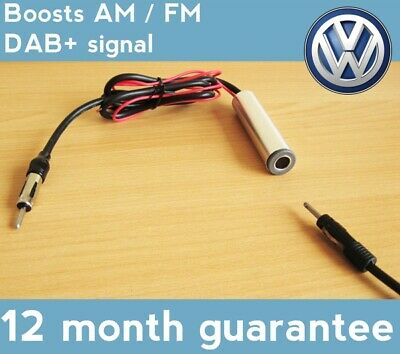 Aerial Antenna Amplifier Booster VW Transporter UP! Vento • 10.99£