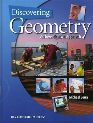 $7.24 • Buy Discovering Geometry: An Investigative Approach , Serra, Michael