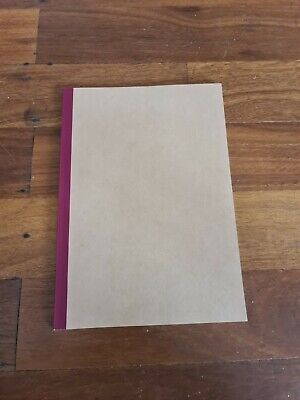 AU5 • Buy Authentic Muji B5 Lined Notebook (30 Sheet) 6mm Brand New