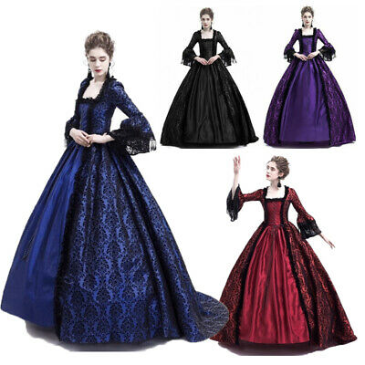 £18.79 • Buy Lady's Victorian Medieval Dress Renaissance Evening Ball Gowns Dresses Costume
