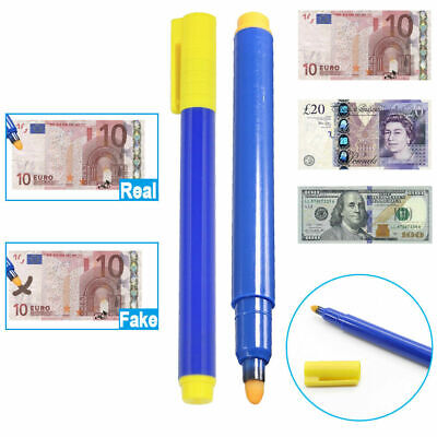 £2.75 • Buy Counterfeit Check Money Tester Detector Pen Cash Fake Dollar Bill Currency Notes