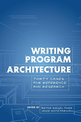 Writing Program Architecture BOOK NEW • 35.17£