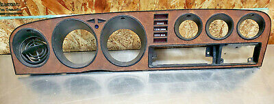 AU254.23 • Buy 76 77 Toyota Celica Gt Ra29 Gauge Cluster Bezel Speedo Trim Surround Woodgrain 2