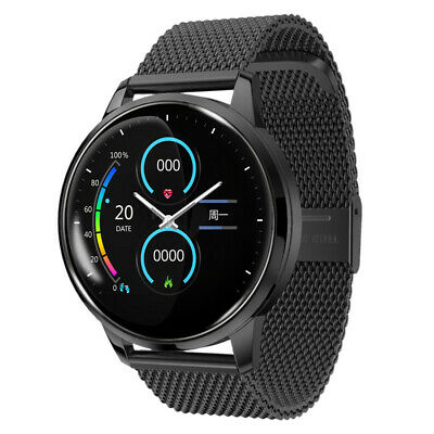 View Details ECG Mens Fitness Tracker Smart Watch Heart Rate Blood Pressure Touch IOS Android • 31.19£