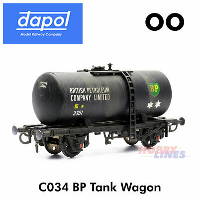 BP TANK WAGON KitMaster Truck Kit C034 Dapol OO Gauge Model Railway • 7.50£