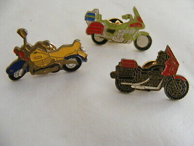 MOTORCYCLE Vintage Metal Pins Badges  Honda • 8.99£